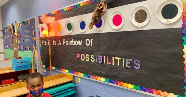 Colins Sanders is part of the increasing emphasis Canton schools are putting on preschool education.