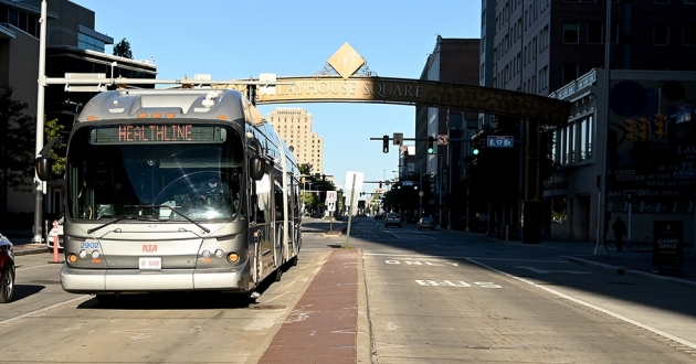 Greater Cleveland RTA officials are working to communicate route changes to riders ahead of the redesign's launch on June 13. [ideastream file photo]