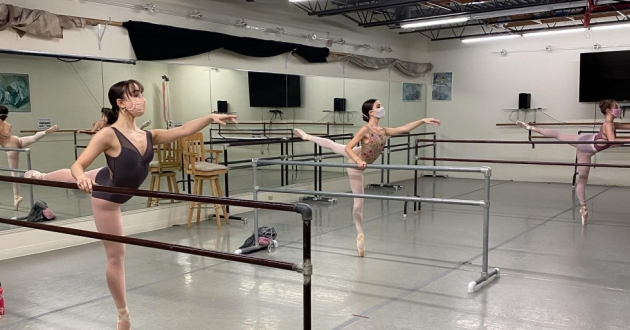 """City Ballet of Cleveland presents performances like """"Paquita"""" and """"Peter and the Wolf"""" as part of their spring ballet concert. [Courtney Mearini/City Ballet of Cleveland]"""