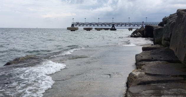 The Alliance for the Great Lakes environmental justice report looks at issues like outdoor access as well as water and air quality in residential spaces. [Justin Glanville / ideastream]