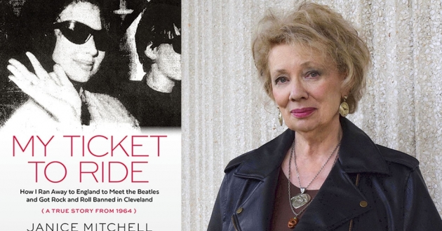 Jan Mitchell (formerly Hawkins) details running away to England as a teen to meet the Beatles and the consequences she later faced for loving rock and roll. [Gray & Company, Publishers]