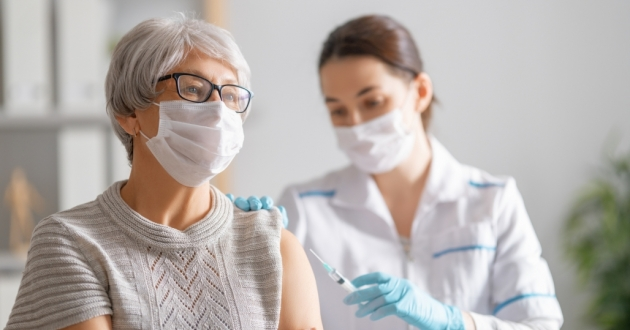 Ohioans over the age of 65 who received the Pfizer vaccine at least six months ago are now eligible to receive a booster shot. [Yuganov Konstantin / Shutterstock]