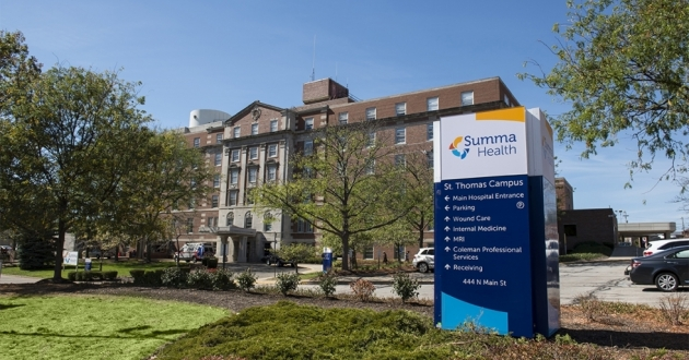Summa Health officials said the hospital system would adjust the combined inpatient bed capacity at Akron and Barberton hospitals from 551 to about 430 by Oct. 24. [Summa Health]