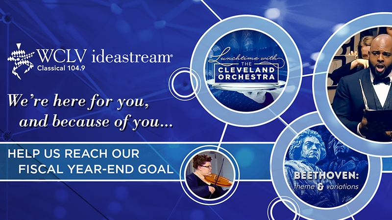 WCLV ideastream donate member support