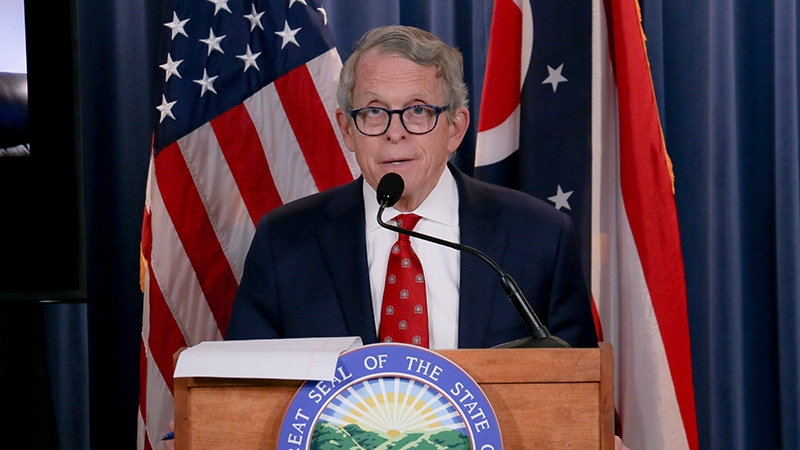 Gov. Mike DeWine addresses the state.