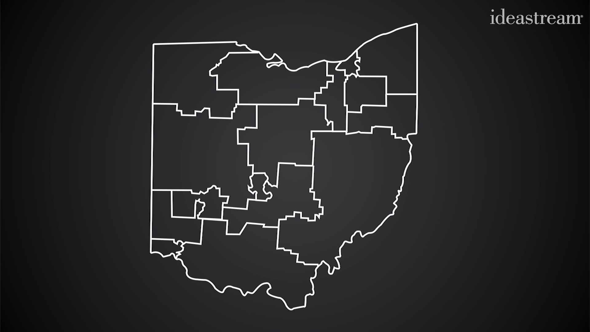 Ohio S Gerrymandered Congressional Districts News Ideastream
