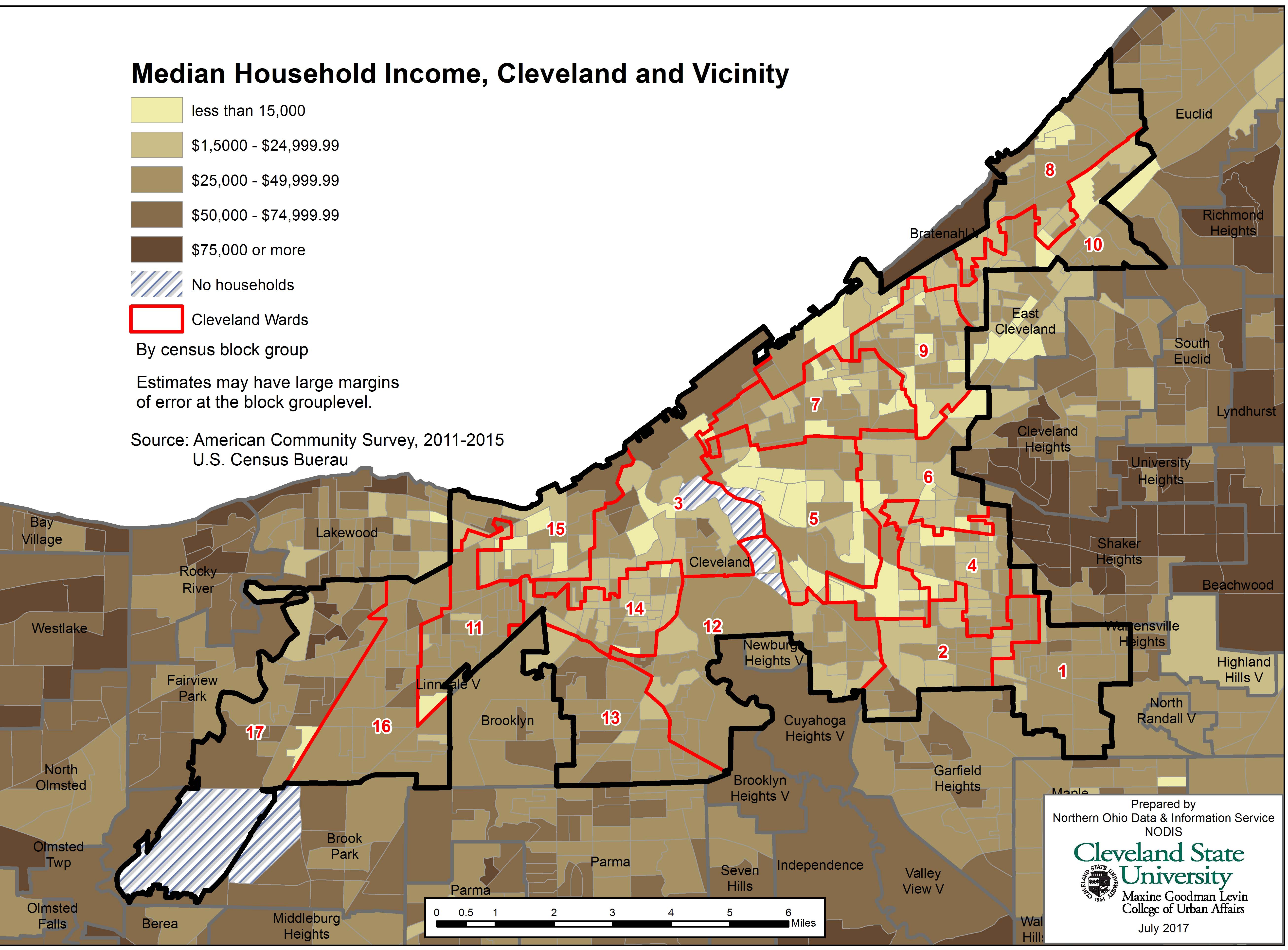 In Cleveland's Ward 14, A Tale Of Two Neighborhoods | News