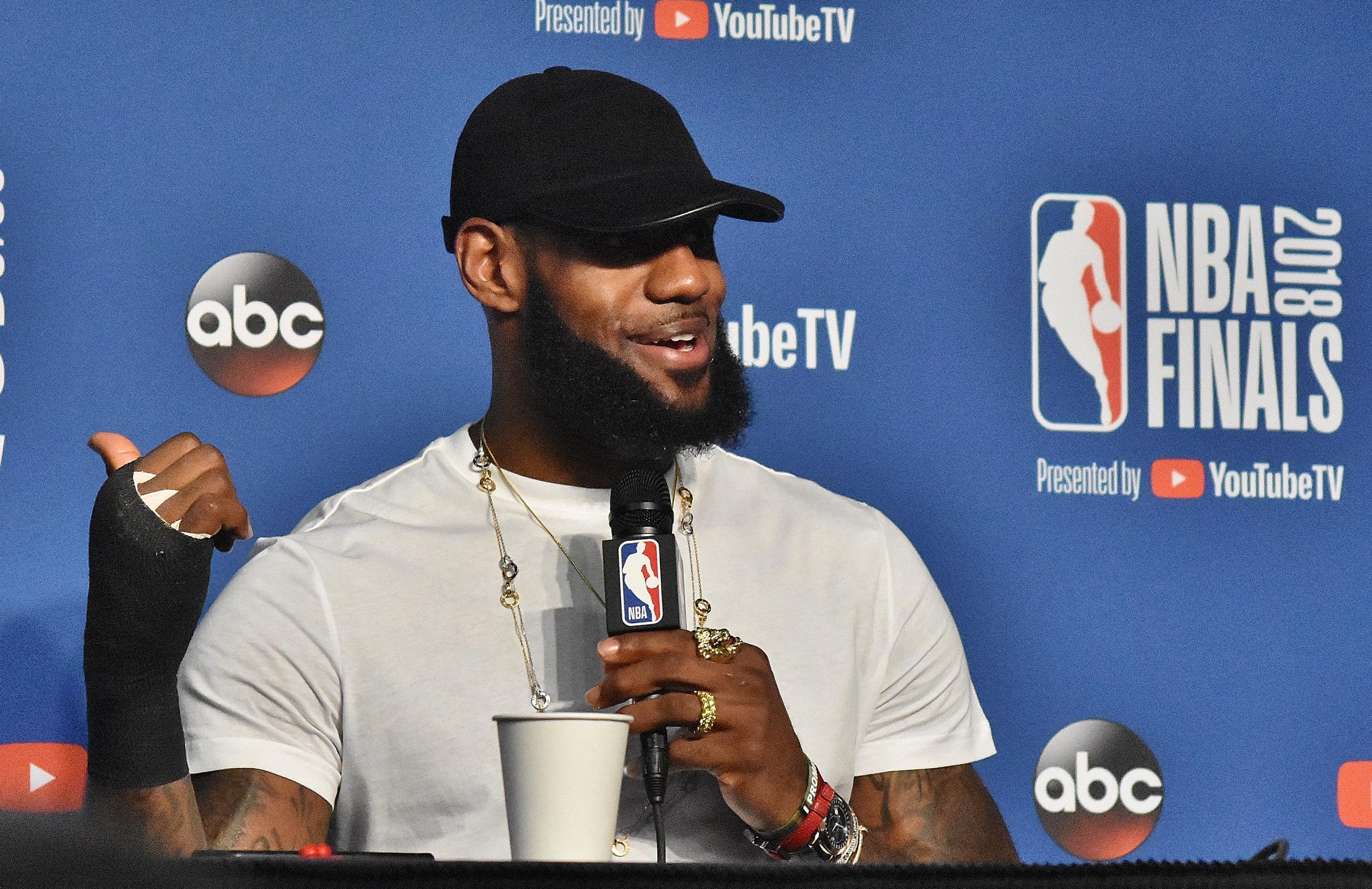 LeBron James Says Farewell To Cleveland