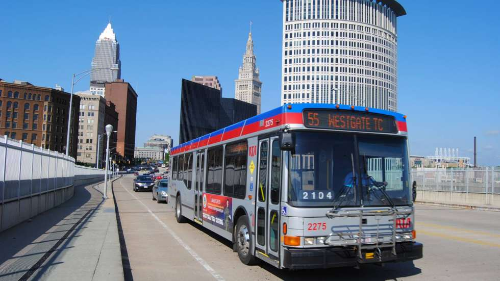 Bus Maps Show Diverging Visions Of Greater Cleveland Rta S