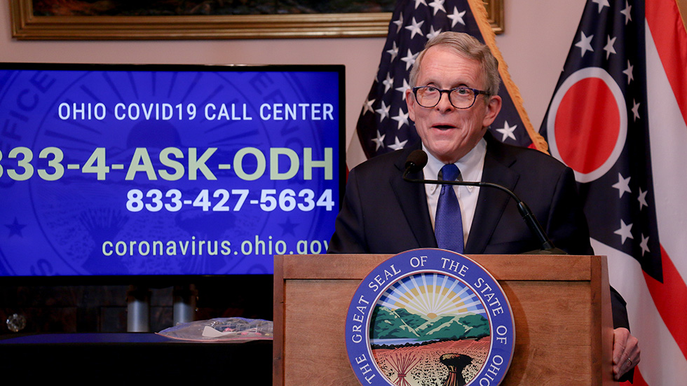 Dewine Calls For Early Release Of 38 Prisoners Coronavirus Update April 3 2020 Ideastream