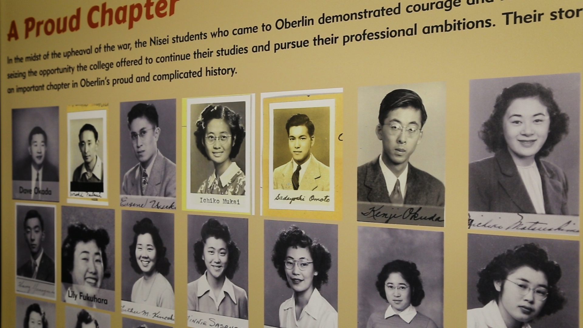 When Oberlin Opened Its Arms To Japanese-Americans During
