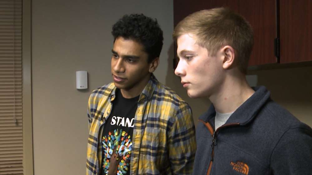 Orange High School senior Ahmed Abouelsoud and junior Jared Kochis discuss their tobacco addiction.