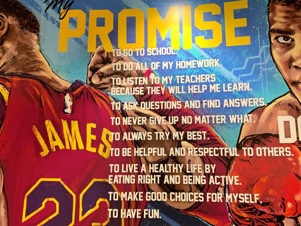 The promise pledge