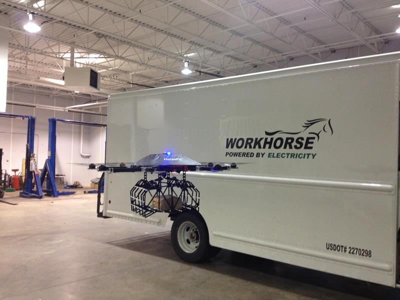 Even as early as 2015 Workhorse was testing drone delivery off its electric trucks in Loveland.