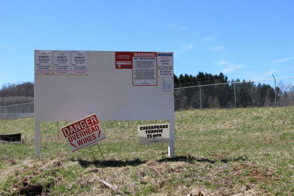 Chesapeake Energy built a well pad, but never drilled a well. The landowners are now waiting to see what happens next.