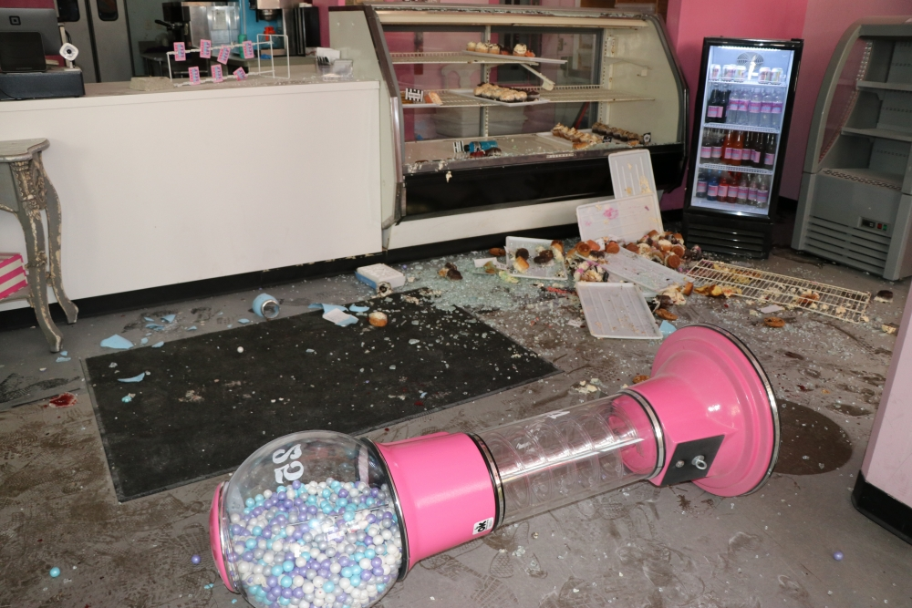 Damage to Colossal Cupcakes