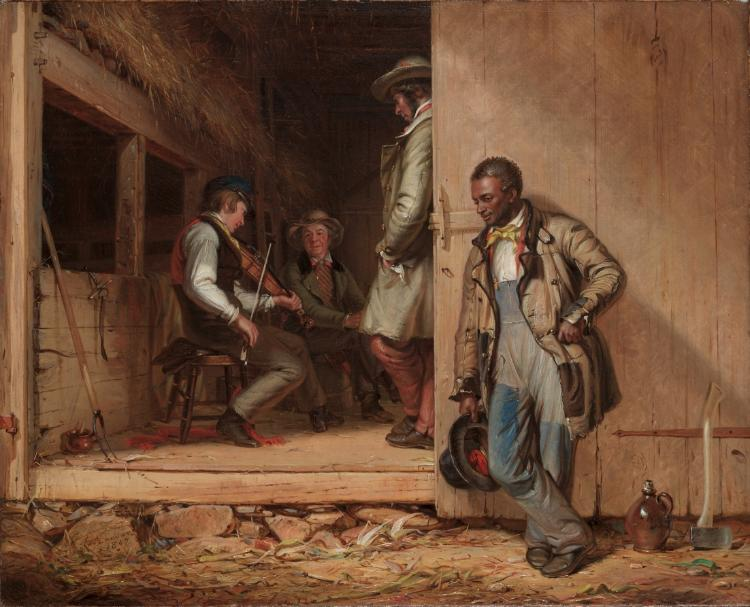 """19th-century American painter William Sidney Mount's """"The Power of Music"""""""
