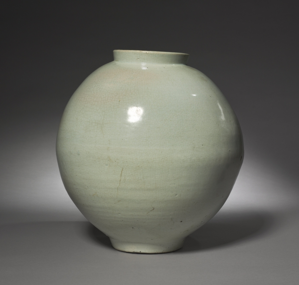 Moon jar from Korea 1700s