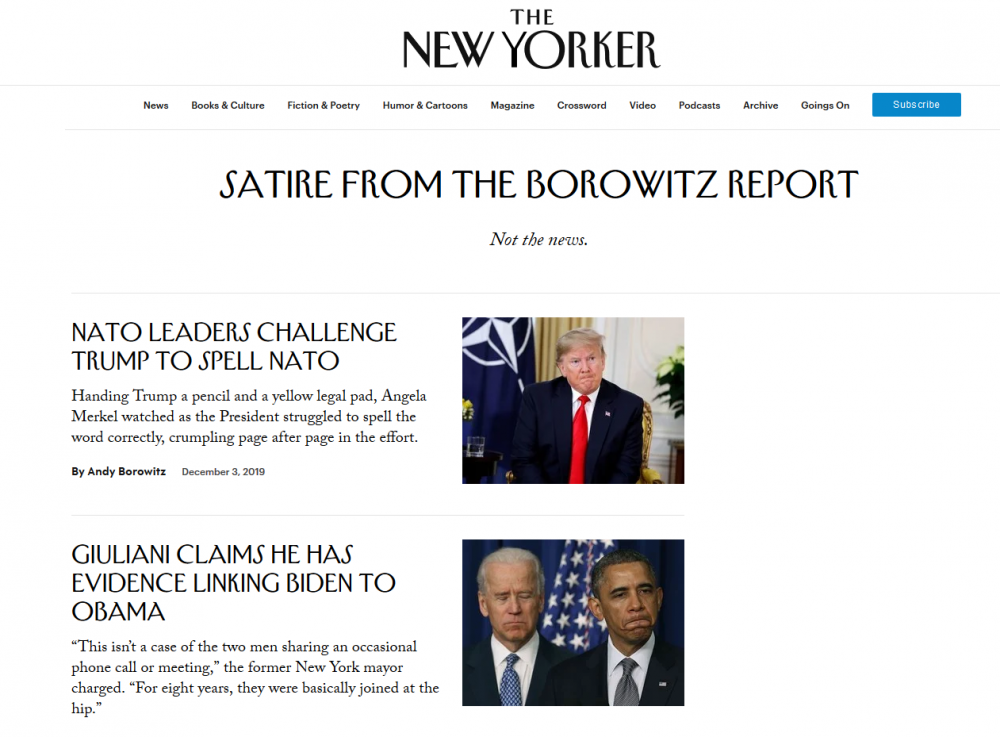 Shaker Heights Native Andy Borowitz Brings Political Satire Home
