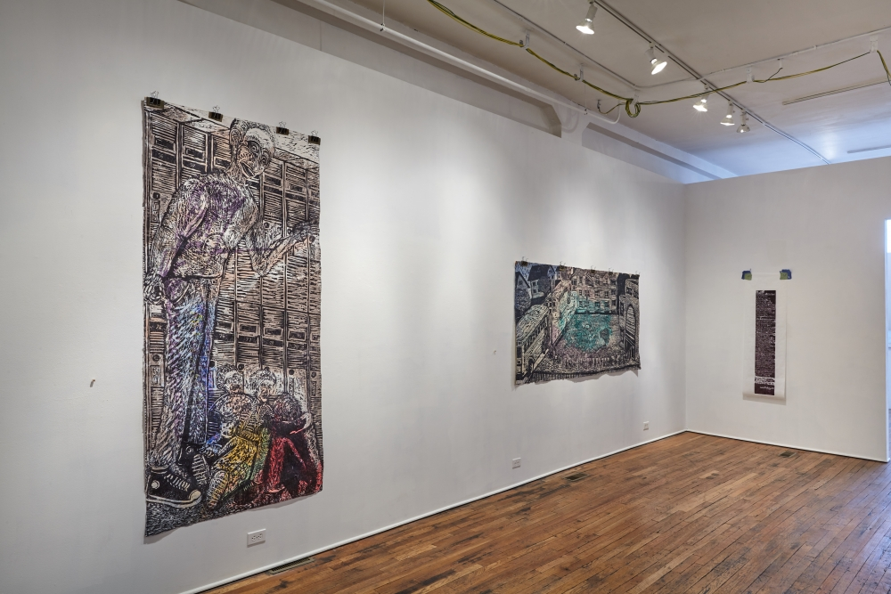 """Claudio Orso's exhibit """"Panta Rhei"""" is on view at the Bostwick Building Gallery in Cleveland"""