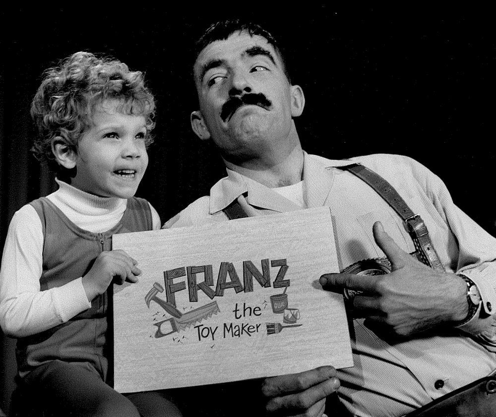 picture of Ray Stawriaski as Franz the Toymaker WJW-TV [Cleveland Public Library/Mike Olszewski]