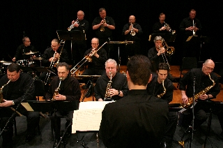 Photo of the Lakeland Civic Jazz Orchestra in concert [Lakeland Jazz Festival]