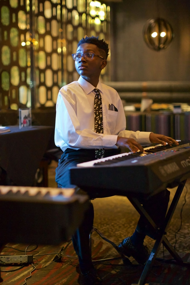 Photo of Open Tone student playing piano [Open Tone Music]