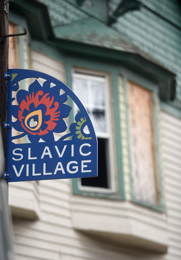 Cleveland's Slavic Village neighborhood has seen an increase in new HIV diagnoses since 2015, according to state health officials. A project there aims to learn more about how the virus is being transmitted, to step up prevention and treatment, and to distribute condoms and other safer-sex products.  (Tim Harrison for ideastream)