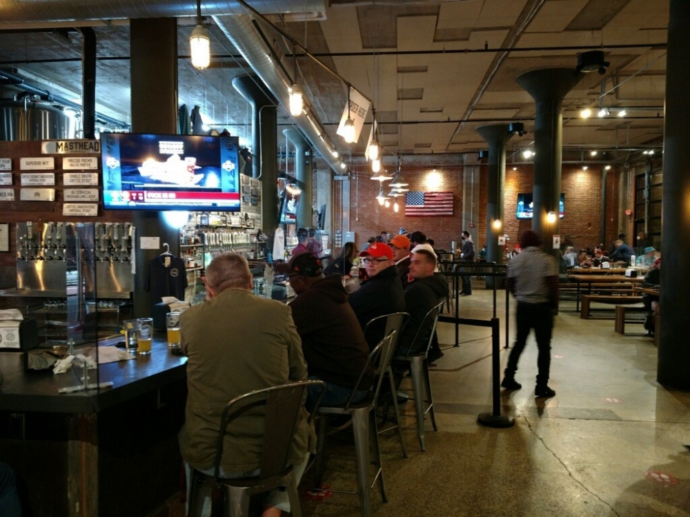 Masthead Brewery in Downtown Cleveland