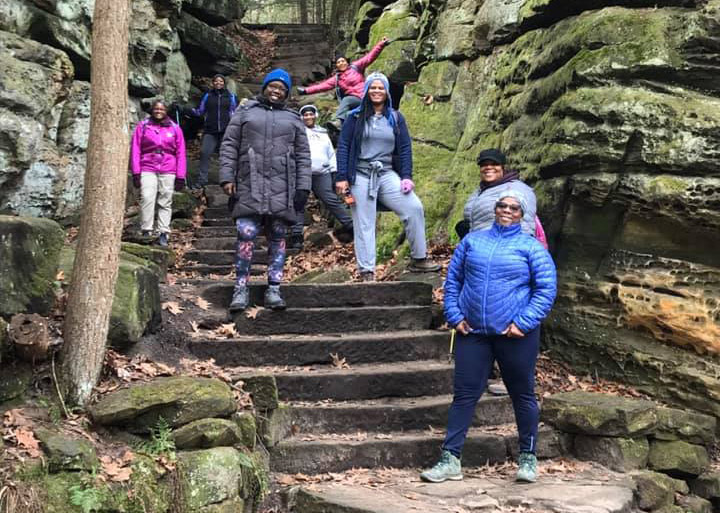 Kimberly Smith-Woodford of Journey On Yonder in Cuyahoga Valley National Park