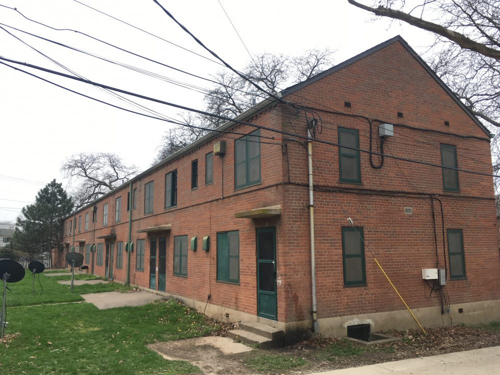 Woodhill Homes in Cleveland is scheduled to be redeveloped as mixed-income.