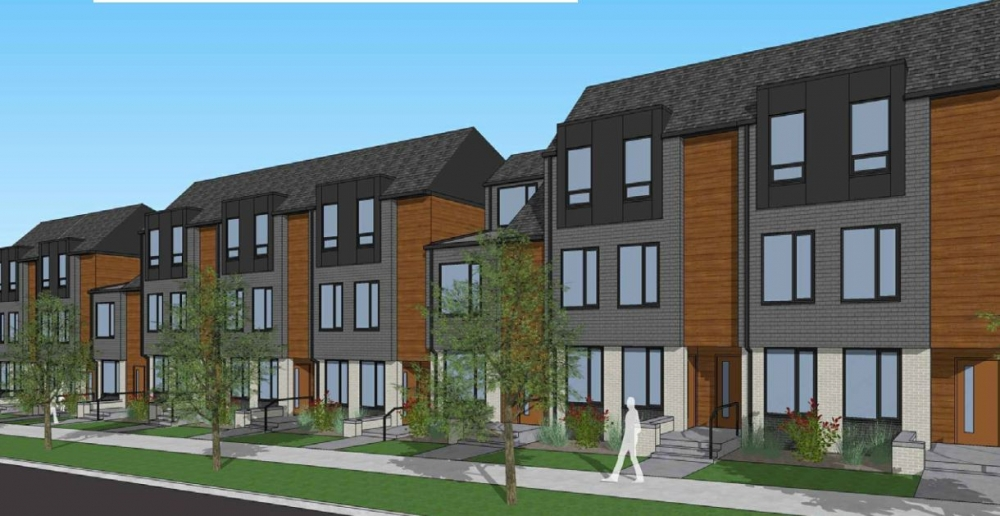 CMHA's proposed new building will occupy the site of Bumper Crop Farm on Woodland Avenue.