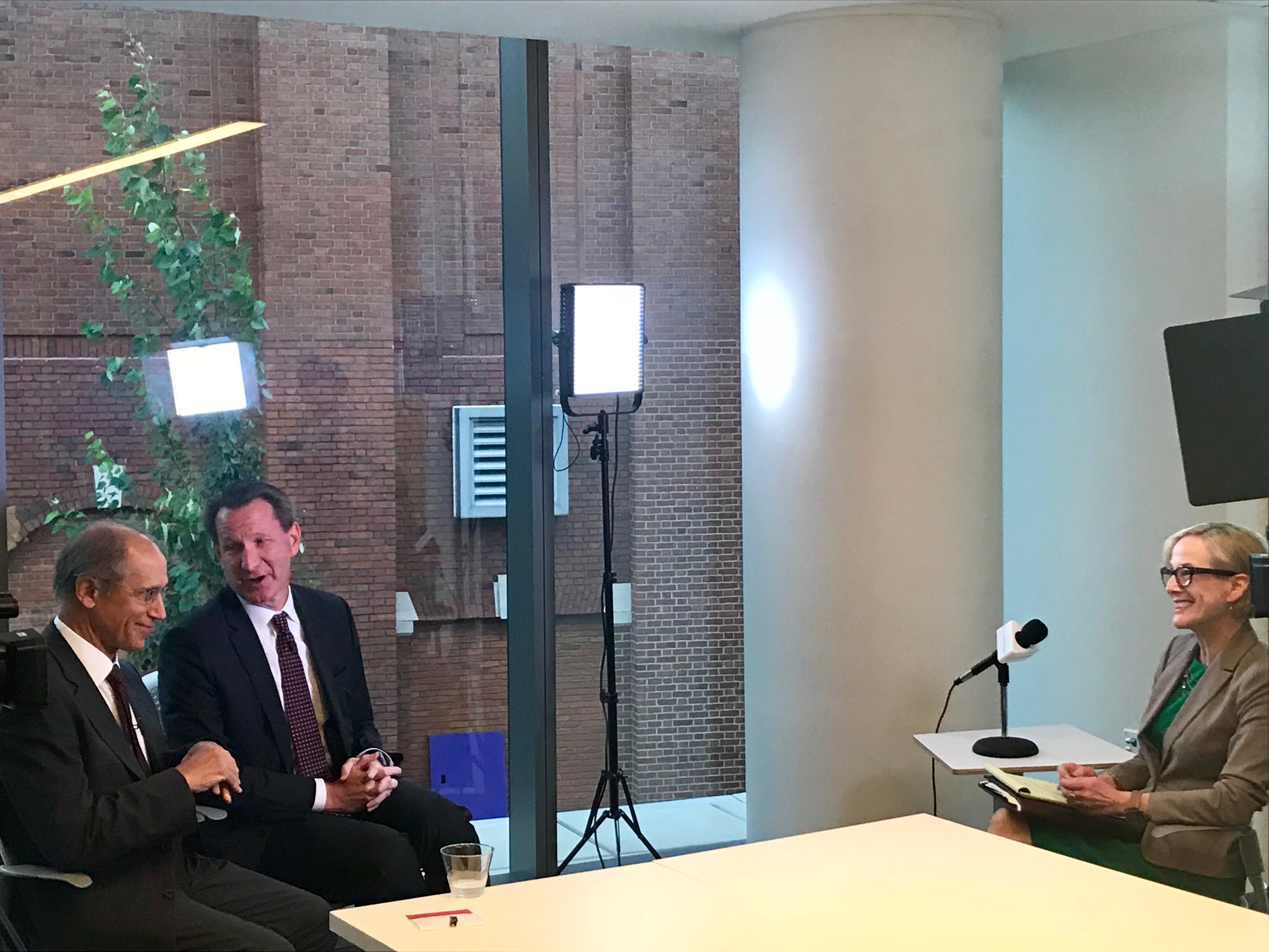 ideastream's Kay Colby sits down with NCI Director Norman Sharpless and Dr. Stan Gerson, Director of the Case Comprehensive Cancer Center [CWRU School of Medicine]