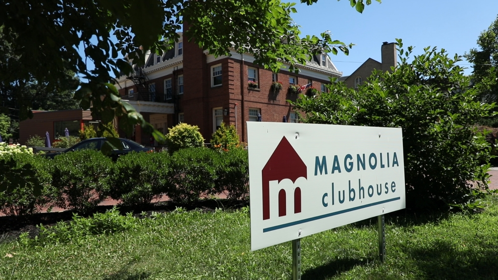 Magnolia Clubhouse operates in two turn-of-the-century homes in University Circle.