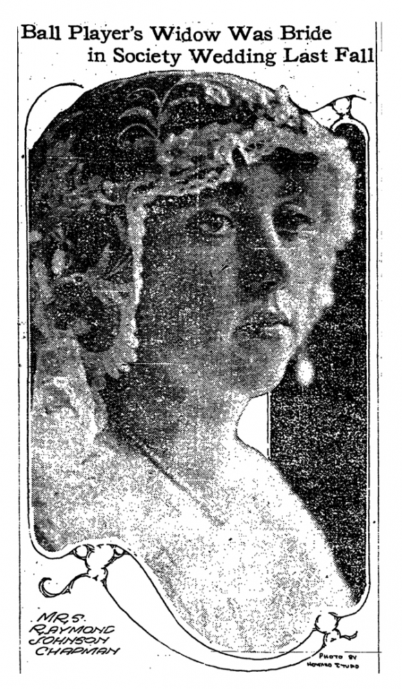 Ray's wife Kathleen Daly was the daughter of a wealthy Cleveland businessman. They were married less than a year before Chapman died. [The Plain Dealer, 1920]
